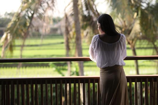 アラヤリゾートウブド バルコニーからの眺め(イメージ)
