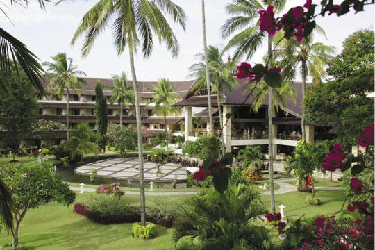 ディスカバリー カルティカ プラザ ホテル 中庭(イメージ)