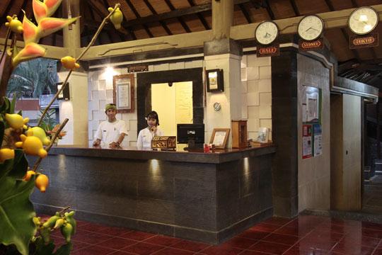 アディダルマ・ホテル フロント(イメージ)