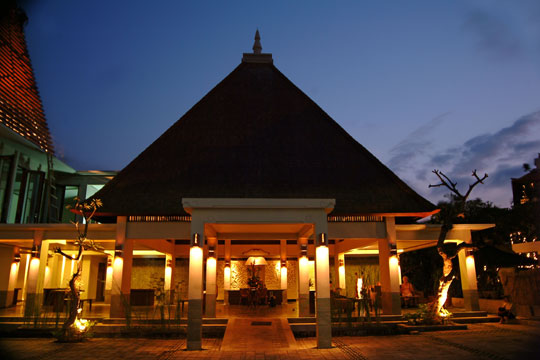 ラーマヤナ リゾート&スパ エントランス(イメージ)