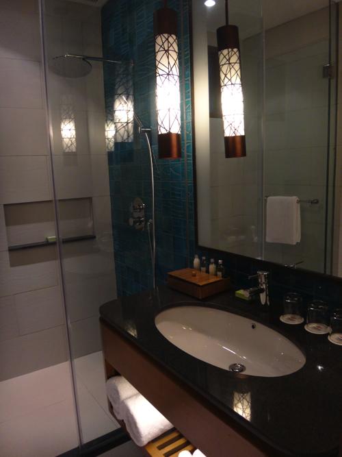 ファミリールーム シャワー&洗面台