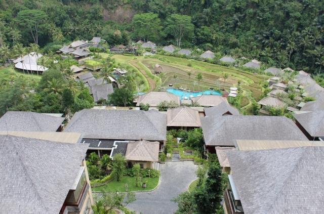 マンダパ 上からの風景