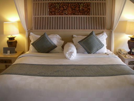 クラブルームのベッド2
